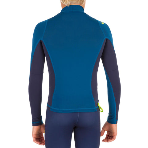Kids' Surfing Long-Sleeved UV Protection Top T-Shirt 500,