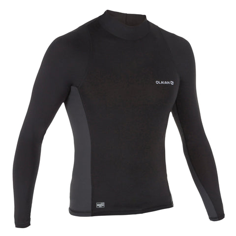 Men's Surfing Long-Sleeved Top T-Shirt UV Protection 500,