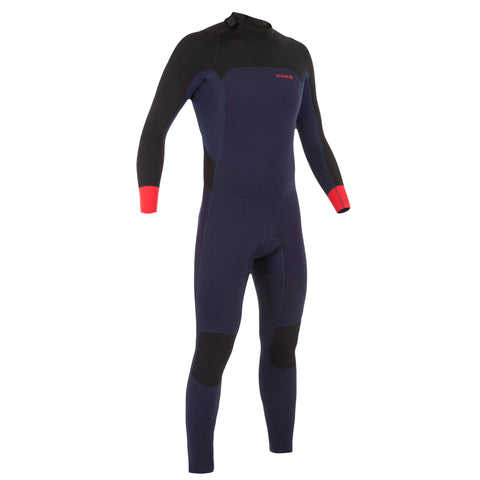 Men's Wetsuit 4/3 mm Neoprene Surf 500,