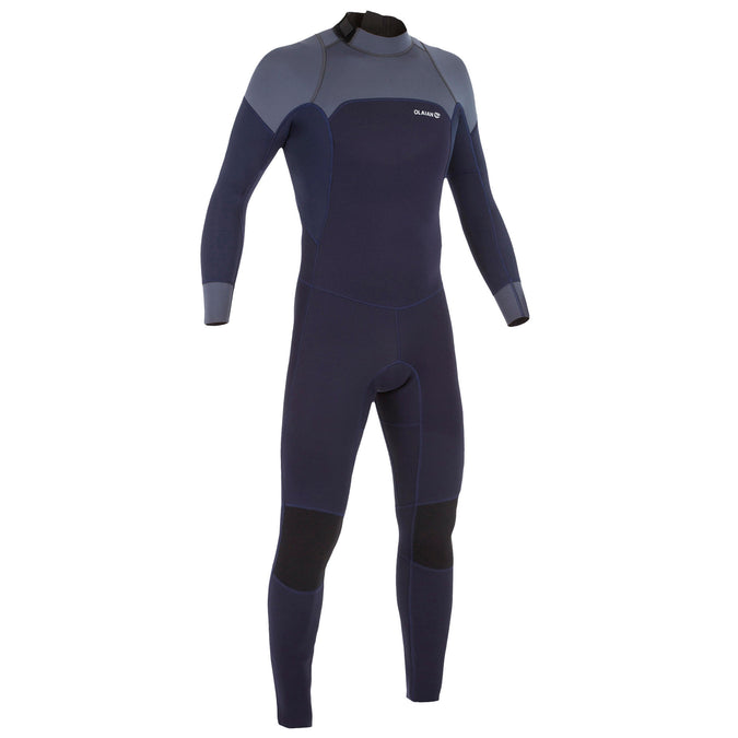 Men's Surfing Wetsuit 3/2 mm Neoprene Surf 500,navy blue, photo 1 of 9