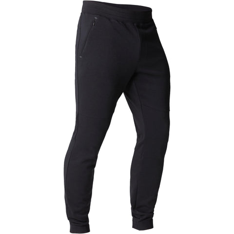 Gentle Gym and Pilates Slim-Fit Bottoms 560,black