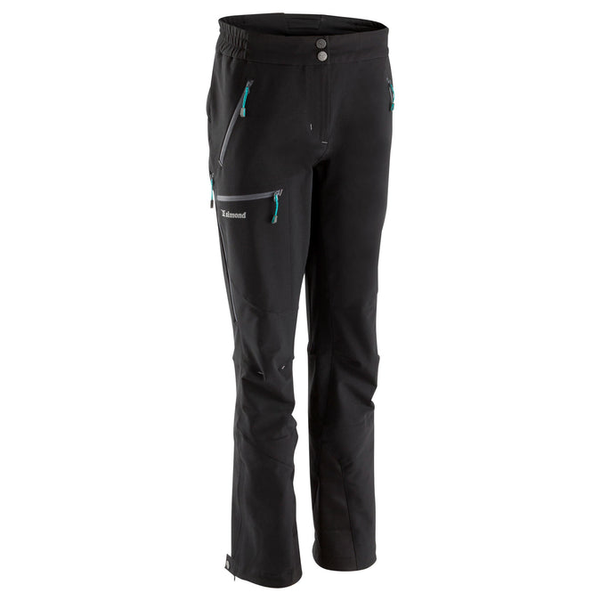 Women's Mountaineering Pants,black, photo 1 of 14