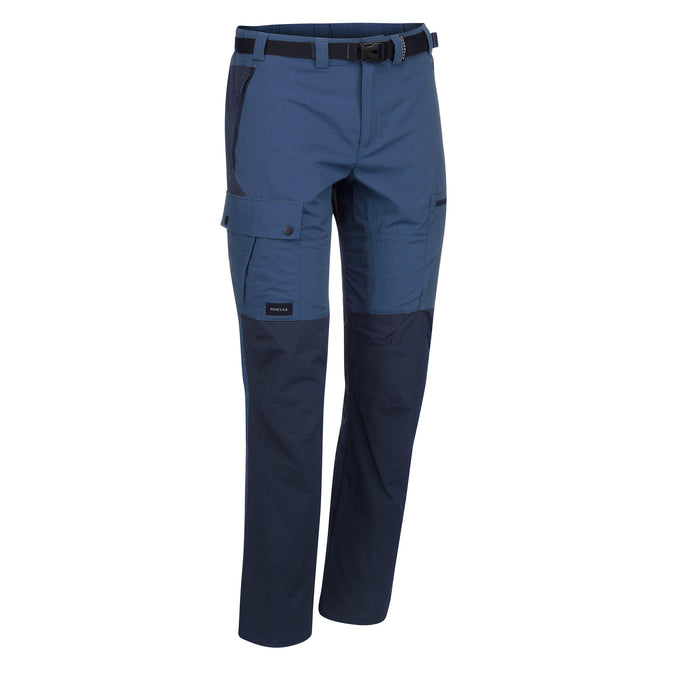 Men's Trek 500 Hiking Pants,slate blue, photo 1 of 11