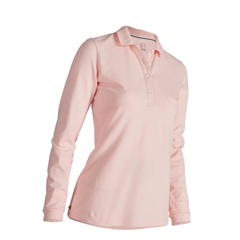 Women's Golf Mild-Weather Long-Sleeved Polo Shirt,
