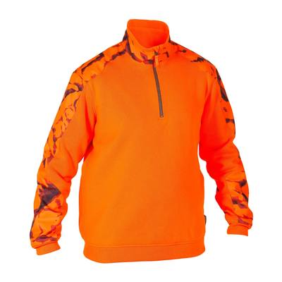Men's Hunting Pullover Renfort 500,safety vest orange, photo 1 of 7