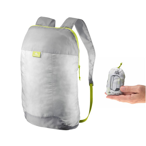 Travel Ultra-Compact Backpack 10 Liter,pearl gray