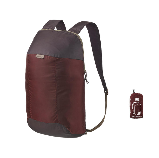 Travel Ultra-Compact Rucksack 10 Liter,mahogany, photo 1 of 11