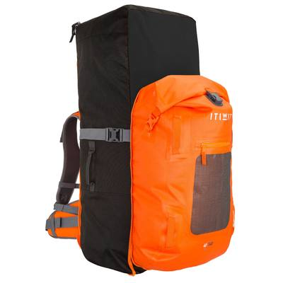 Stand Up Paddle Watertight Backpack Touring 100L + 40L 500,