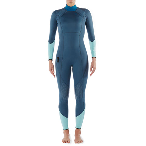 Women's Diving Wetsuit with Padding 3 mm Neoprene SCD 540,