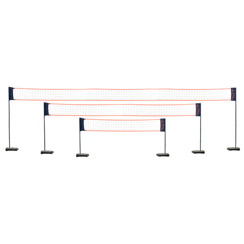 Beach Volleyball Net Adjustable BV500,dark blue