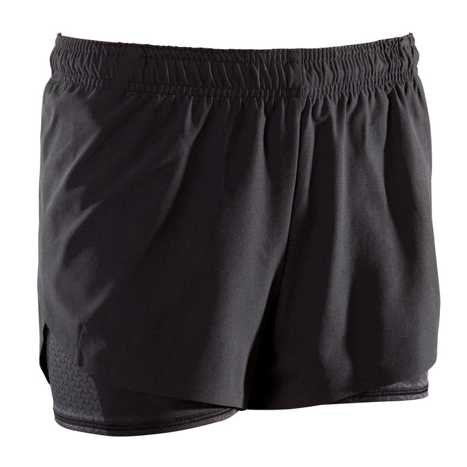 Domyos 500, Cross-Training Shorts, Women's,black, photo 1 of 12