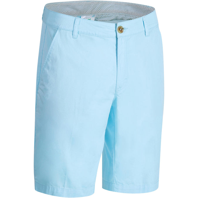 Men's Golf Temperate Weather Bermuda Shorts 500,ice blue, photo 1 of 10