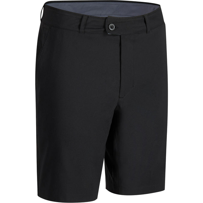 Men's Golf Breathable Bermuda Shorts,black, photo 1 of 6