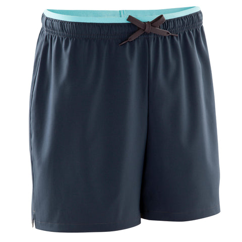 Women's Soccer Shorts F500,midnight blue