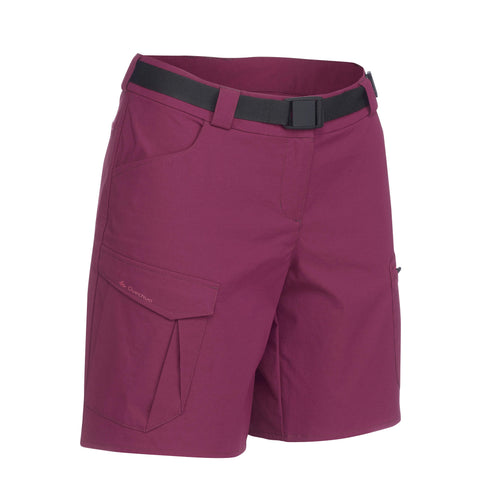 Women's Mountain Backpacking Shorts Trek 100,
