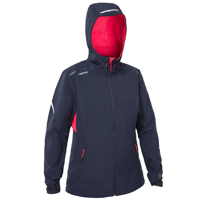 Women's Sailing Softshell Cruise,dark blue, photo 1 of 10