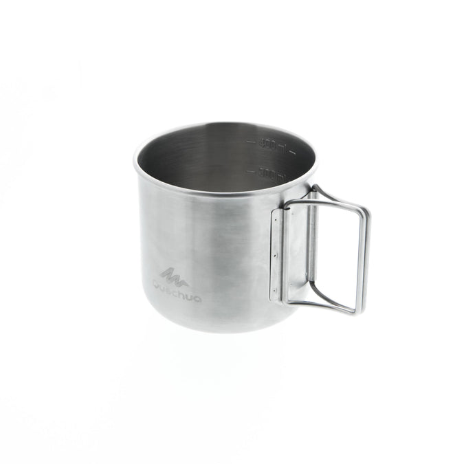 MH150 0.4 L Stainless Steel Camping Mug,dark grey, photo 1 of 4