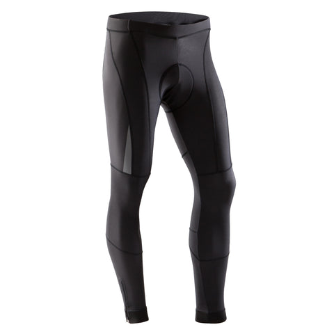 Road Cycling Cold Weather Long Bibless Tights 900,