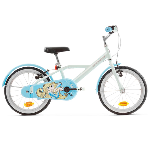 Btwin HYC500, Kids' Hybrid Bike, 16