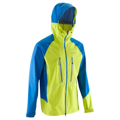 Men's Mountaineering Light Jacket,electric blue