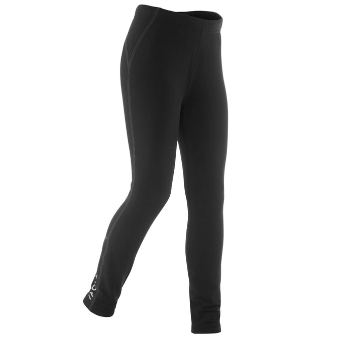Kids' Cross-Country Skiing Warm Tights XC S 100,black, photo 1 of 5