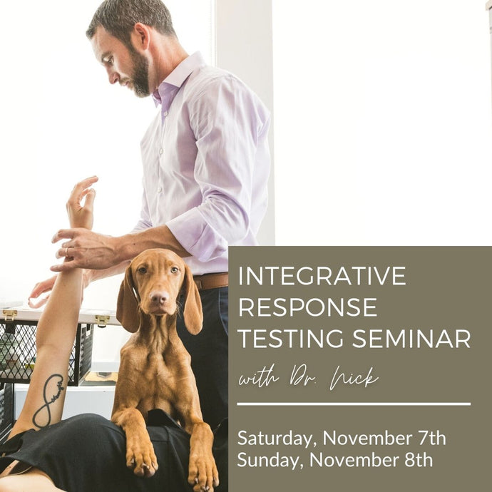 Integrative Response Testing: 2 Day Seminar with Dr. Nick Carruthers