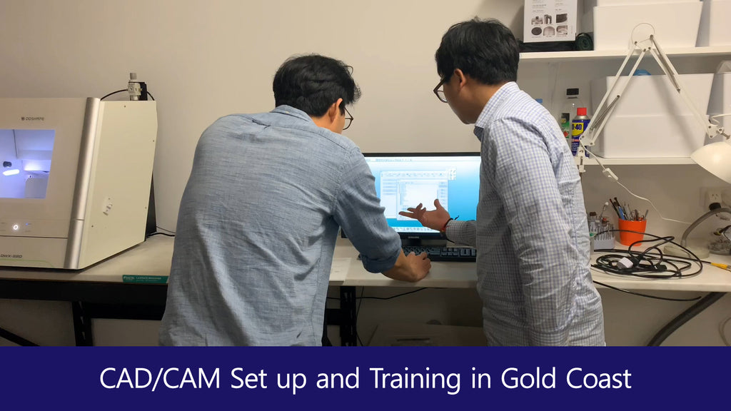 CAD/CAM Installation in Gold Coast (feat. Roland, Shining3D, Exocad, Addin Furnace, Bioden)