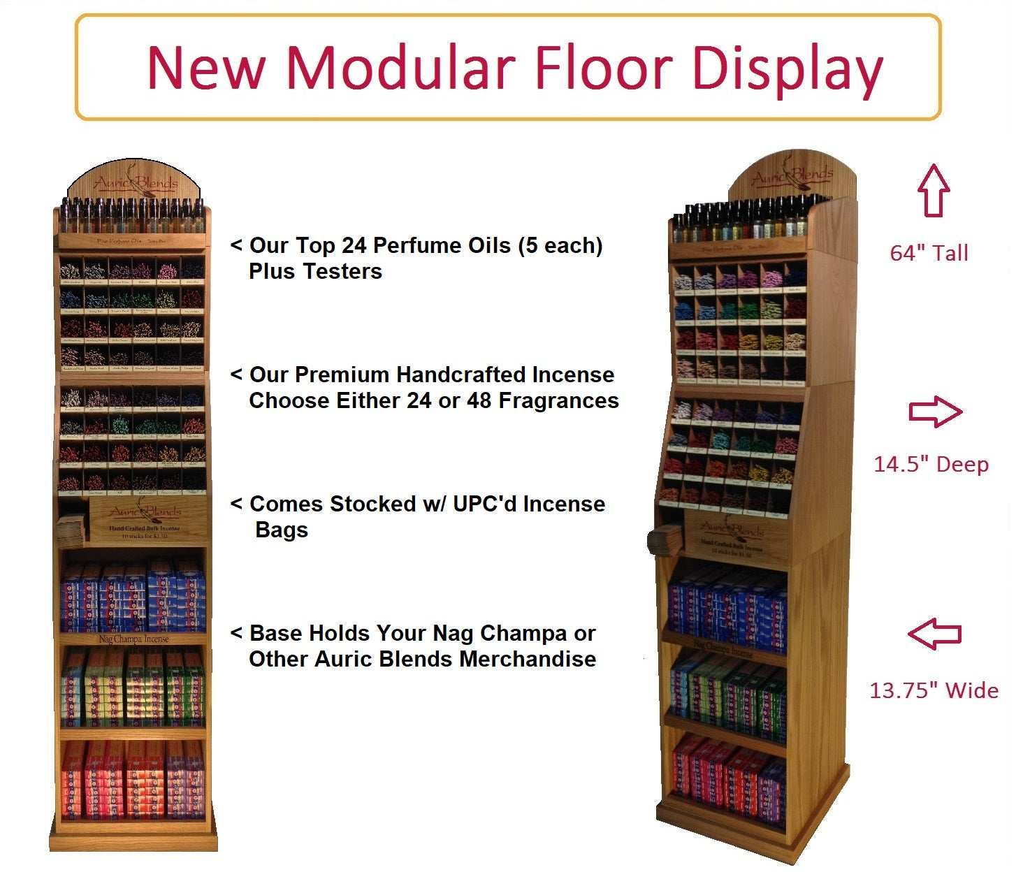 New Modular Floor Displays