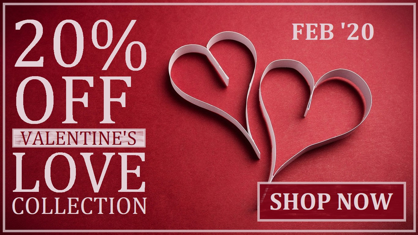 20% OFF Select Love Themed Fragrances All February 2020