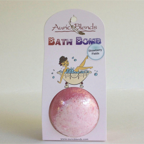 Strawberry Fields Bath Bombs