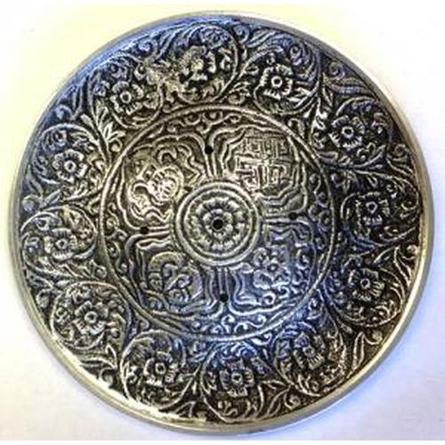 Antique Round Tibetan Incense Holders