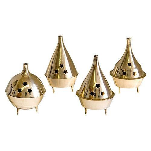 Brass Incense Cone Burners