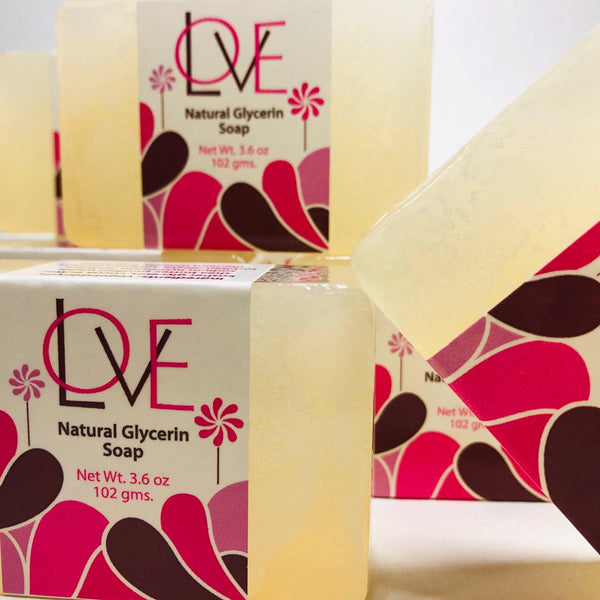Triple Pack - Love Glycerin Soap (3pc)