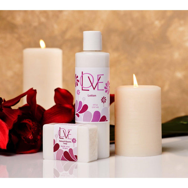 Love™ Combo #4 <p>Scented Body Lotion + Soap</p>