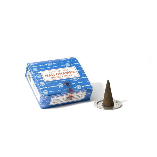 Nag Champa - Incense (Dhoop) Cones