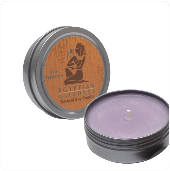 Egyptian Goddess™ - Travel Tin Candle