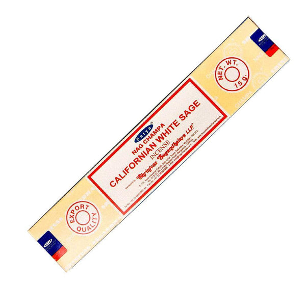 Satya California White Sage Incense - 15 Gram Pack