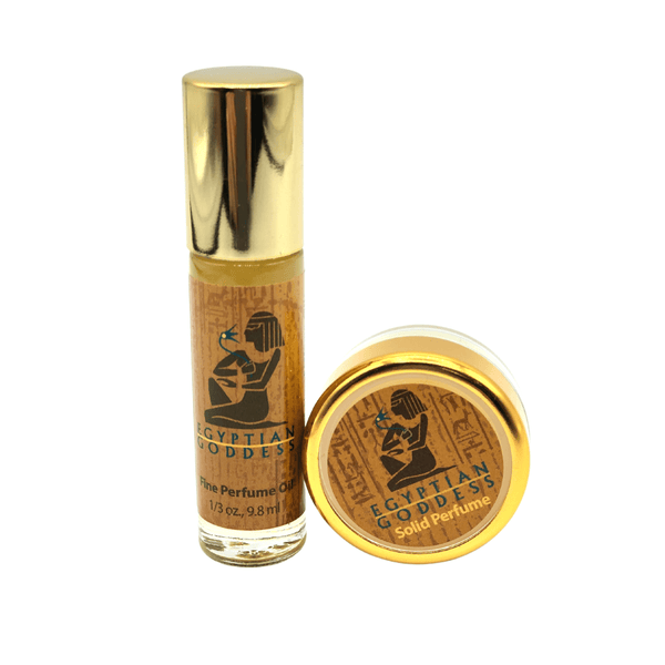 Egyptian Goddess™ Combo #1  <p>Special Edition Roll-on + Solid Perfume</p>