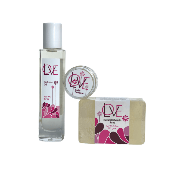 Love Combo #2 <p>1.76oz Perfume Oil + Special Solid + Soap</p>
