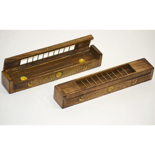 Tibetan Box Incense Holder