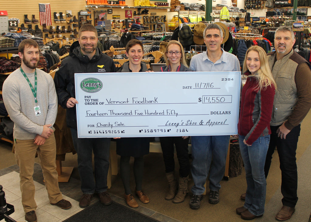 $17,800 Raised to Fight Hunger in Vermont and New York