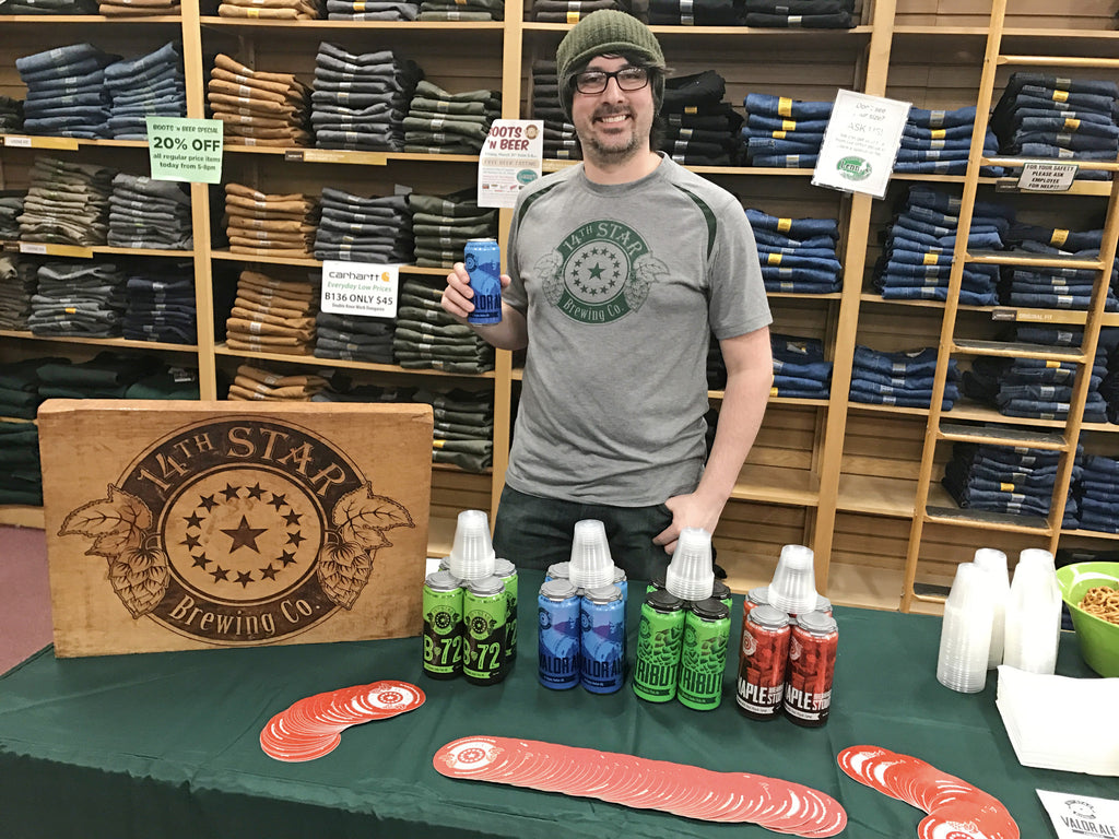Lenny's Shoe and Apparel Brews Up Fun During Boots 'n Beer Event