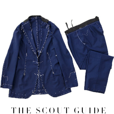 The Scout Guide Anatomy of Bespoke Suit X Of Pentacles Richmond