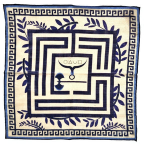 x-of-pentacles-greek-key-motif-wool-silk-neckerchief-navy-pocket-square