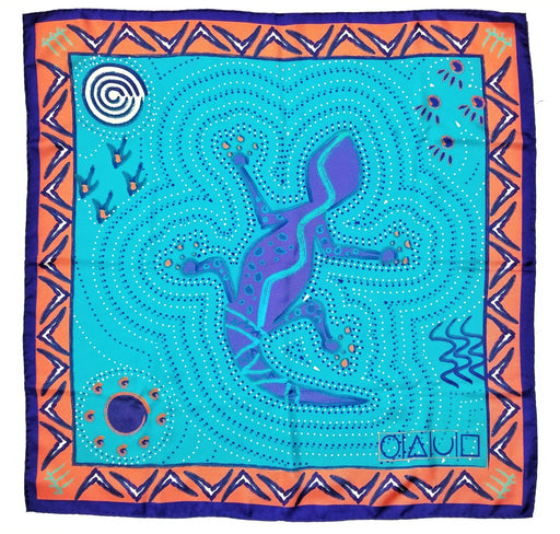 xofpentacles-aussie-bush-print-teal-silk-carre-scarf