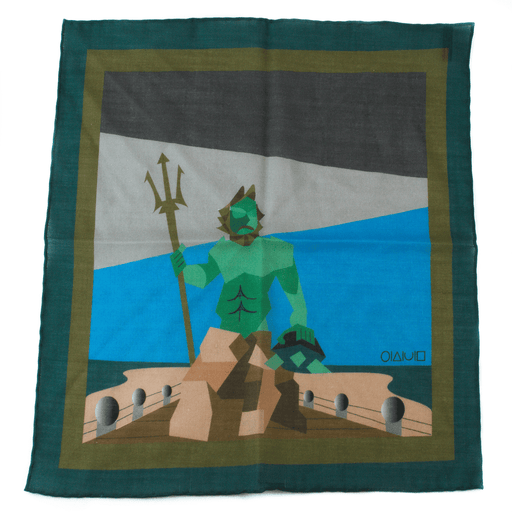 x-of-pentacles-king-neptune-virginia-beach-teal-wool-silk-pocket-square