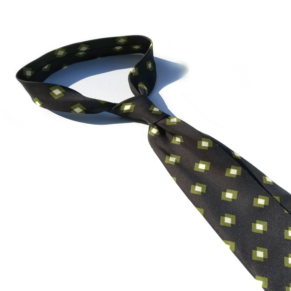 x-of-pentacles-macclesfield-silk-green-block-print-tie
