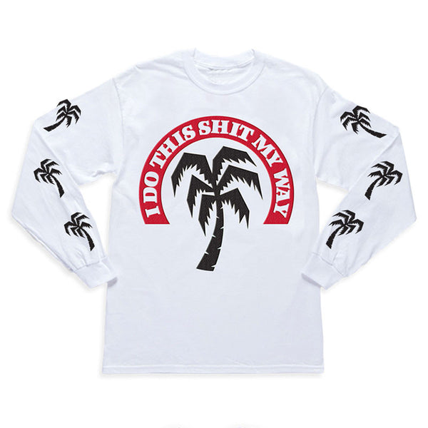 I DO THIS LONGSLEEVE WHITE T-SHIRT
