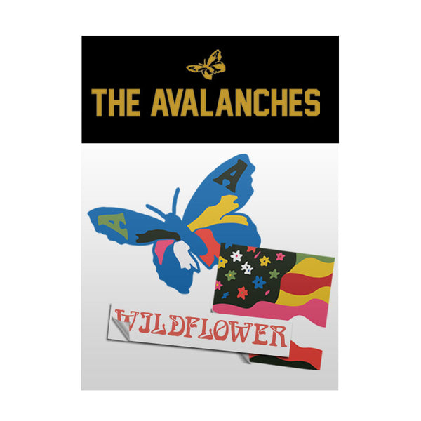 THE AVALANCHES 2016 STICKER PACK