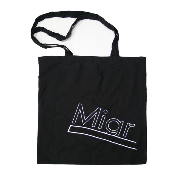 MIGRATION ARROW BLACK TOTE BAG